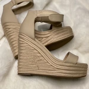 Kendall and Kylie nude wedges